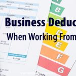 business deductions working from home